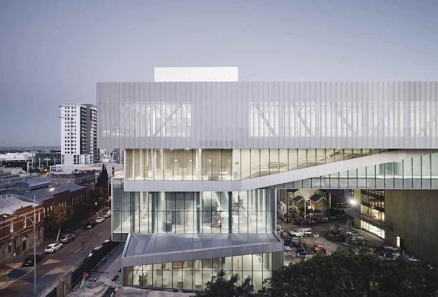 New Museum for Western Australia - Photo by Peter Brennetts, courtesy of OMA.