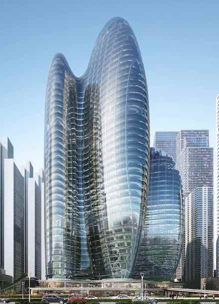 OPPO HQs by Zaha Hadid Architects