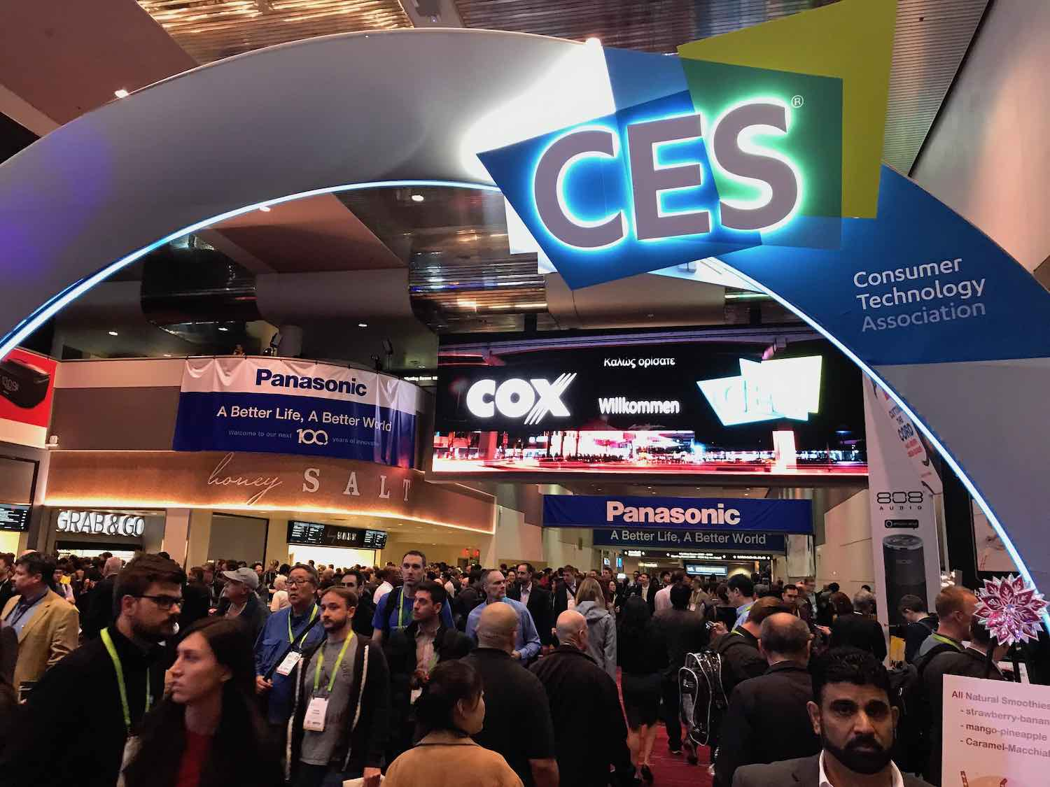CES Las Vegas - Photo by Ryan Boyles, Creative Commons.