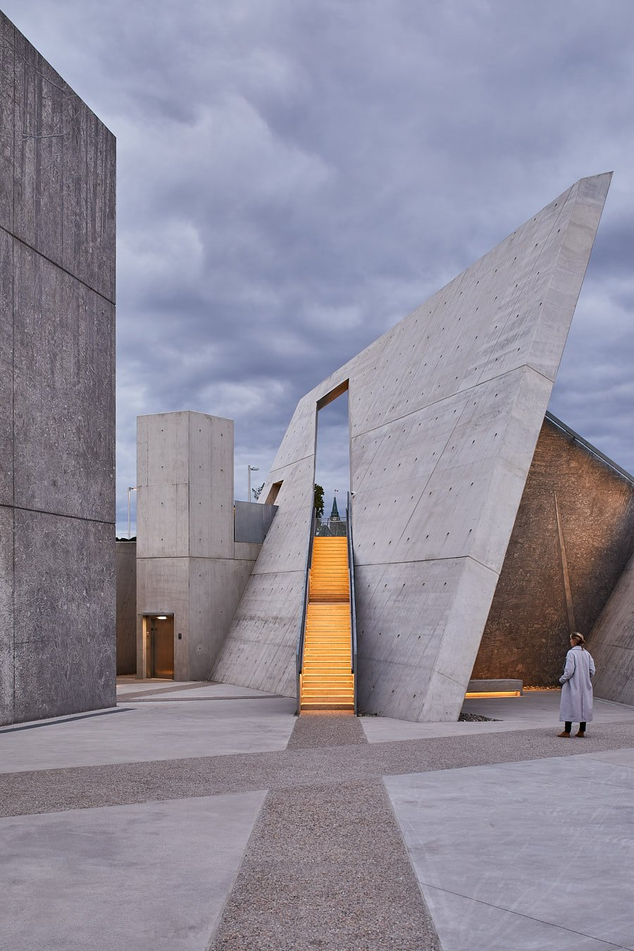 National Holocaust Memorial by Daniel Liebeskind in Ottawa, Canada - Courtesy of Daniel Liebeskind.