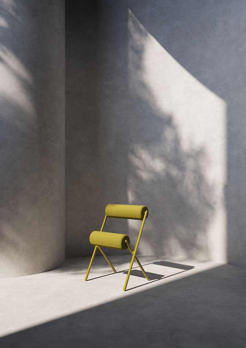 ROLL chair by MUT Design for Sancal.