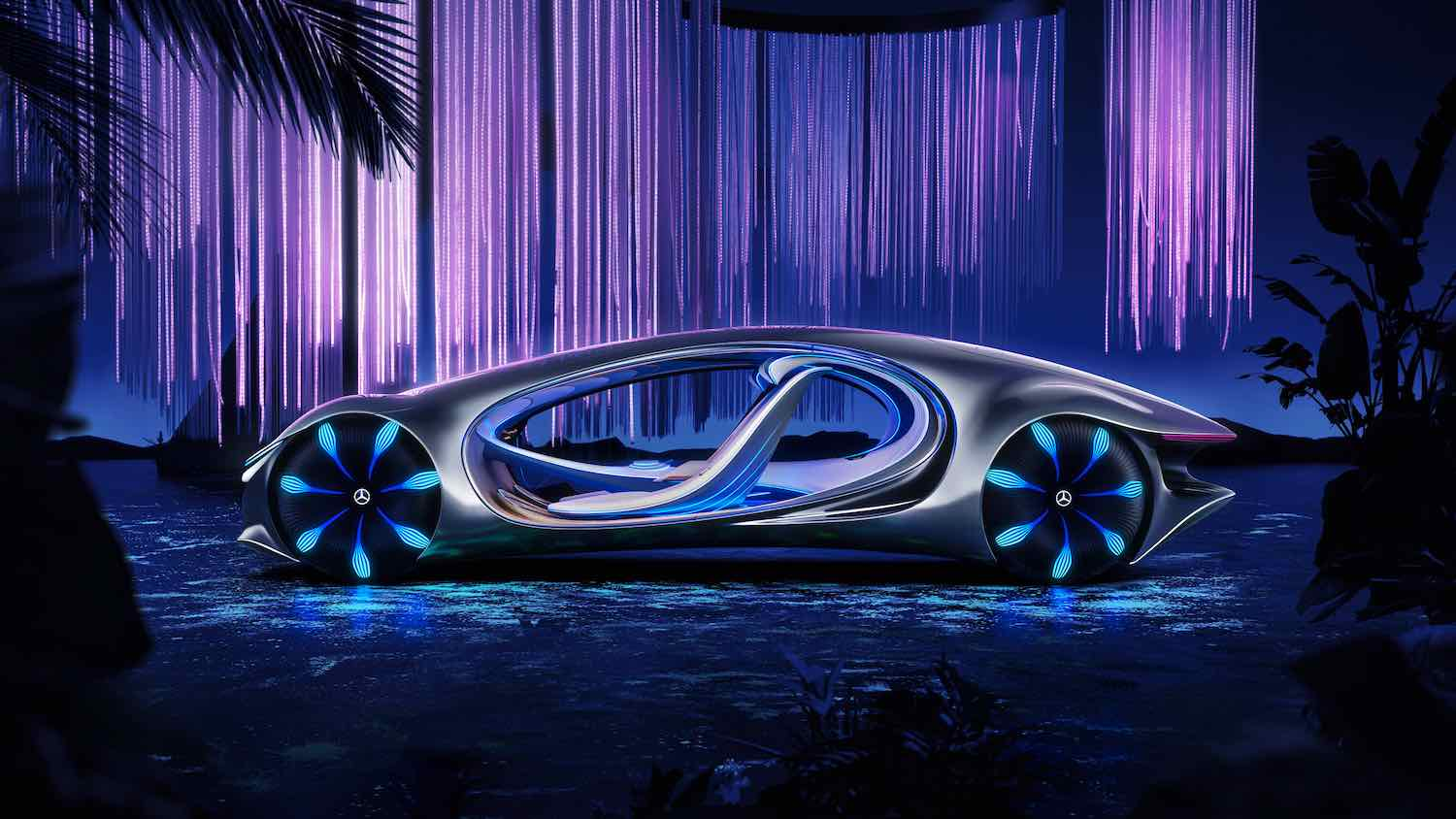 5 Future mobility innovations debuting at CES 2020. 'Vision AVTR' car design by Mercedes Benz - © Mercedes Benz.