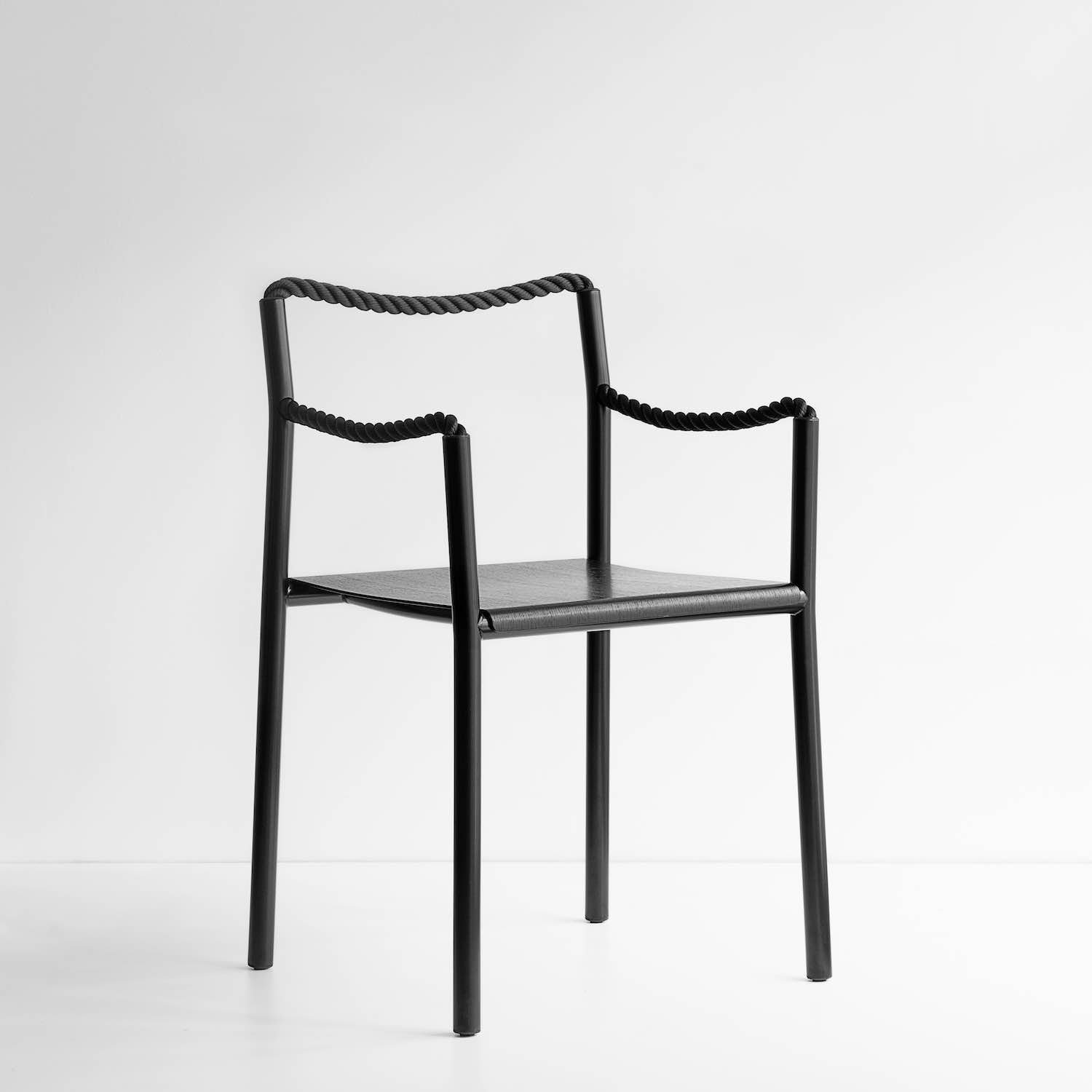 'Rope Chair' by Rowan and Erwan Bouroullec x Artek - Photo by Artek.