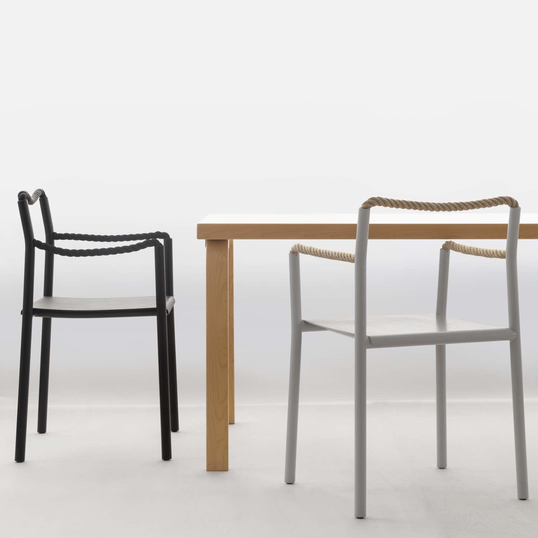 'Rope Chair' by Rowan and Erwan Bouroullec x Artek - Photo by Artek.