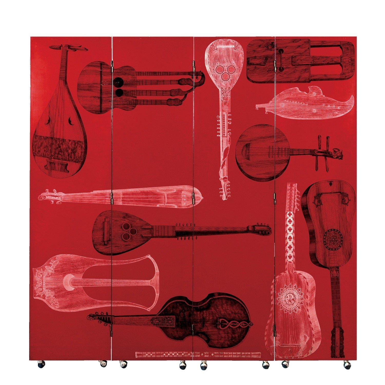 'Strumenti musicali' screen by Fornasetti.