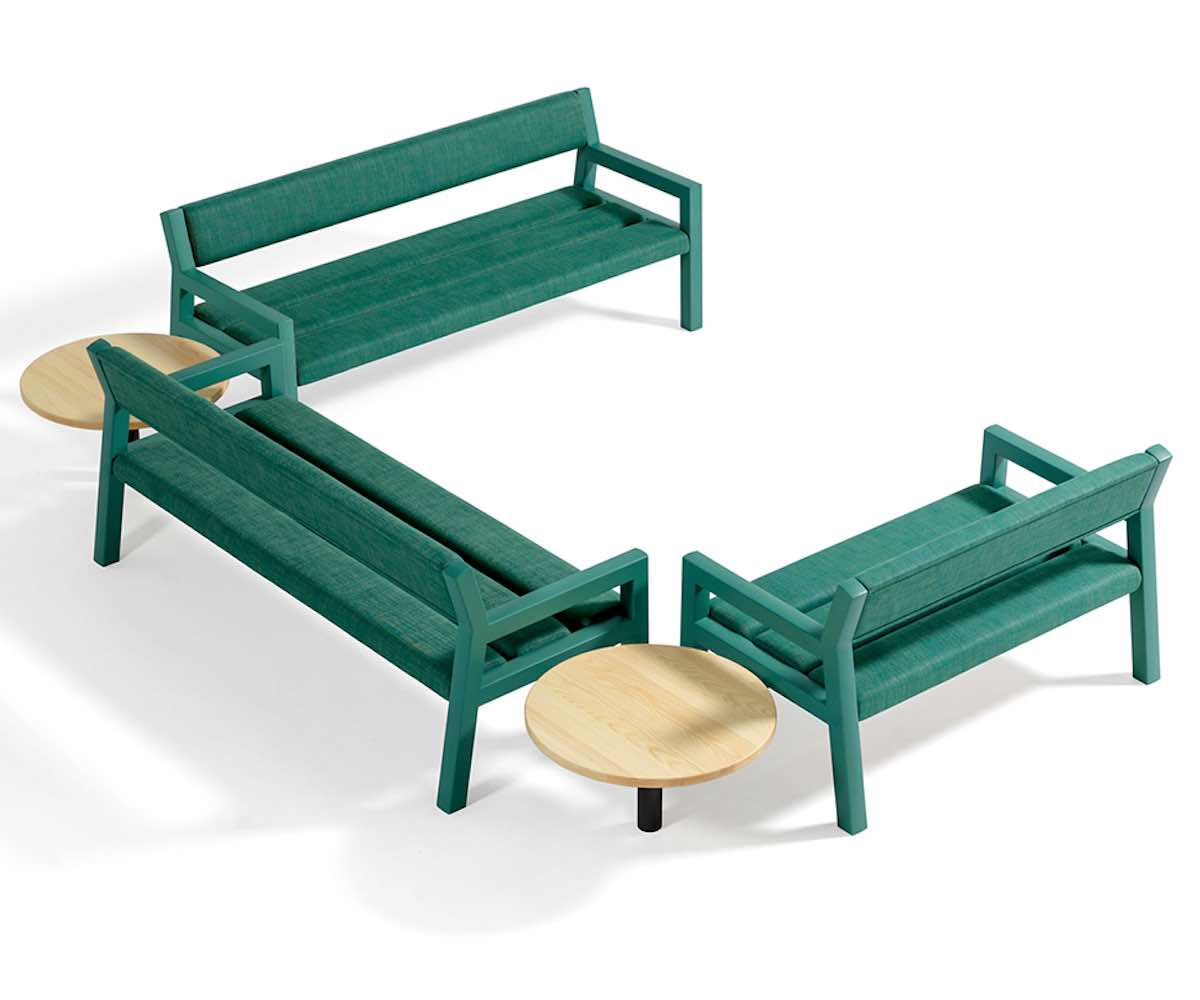 CMP's Park+ benches for Blå Station - Image by Blå Station.