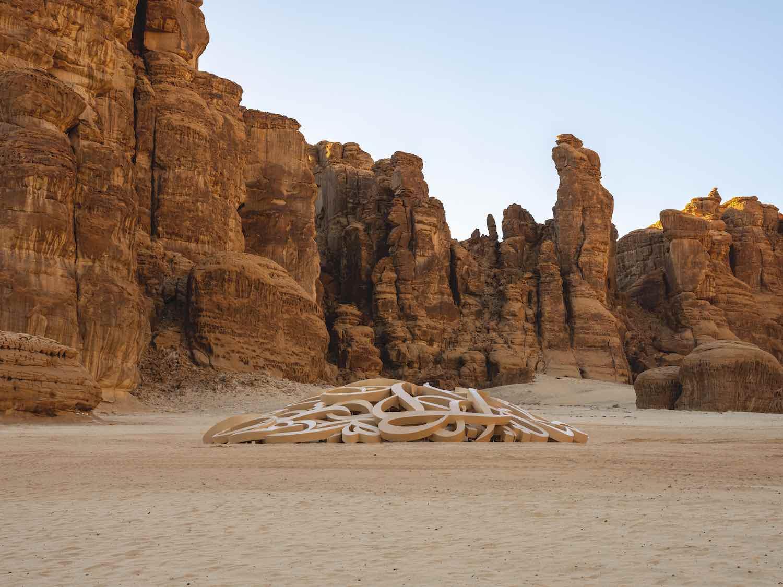 Desert X AlUla 2020. El Seed - Photo by Lance Gerber