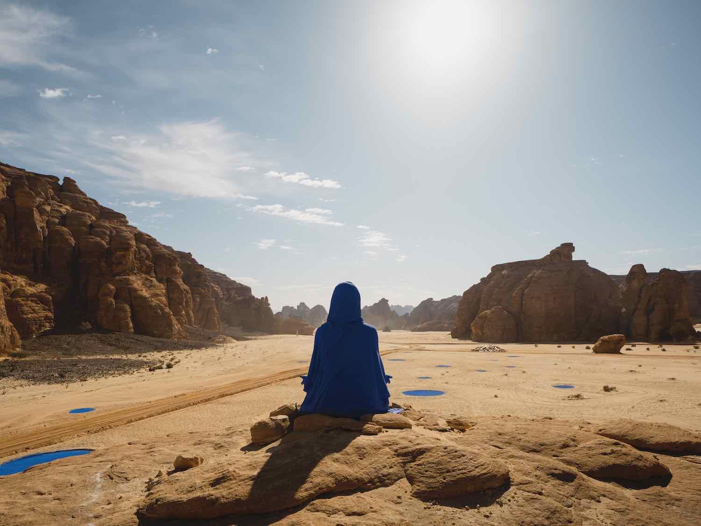 Desert X AlUla 2020. Lita Albuquerque - Photo by Lance Gerber.