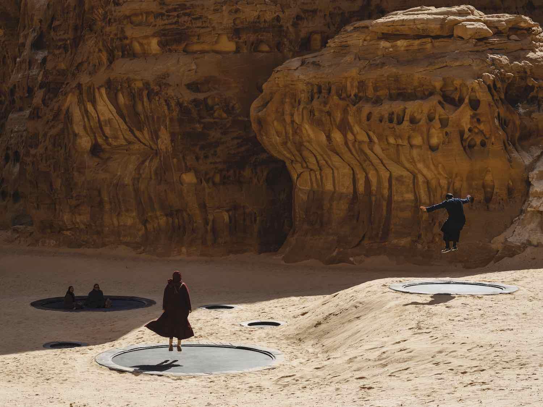 Desert X AlUla 2020. Manal Al Dowayany - Photo by Lance Gerber.