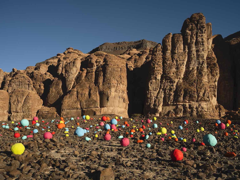 Desert X AlUla 2020 . Mohammed Ahmed Ibrahim - Photo by Lance Gerber.