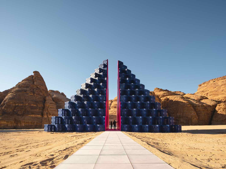 Desert X AlUla 2020. Rashed Al Shashai - Photo by Lance Gerber.