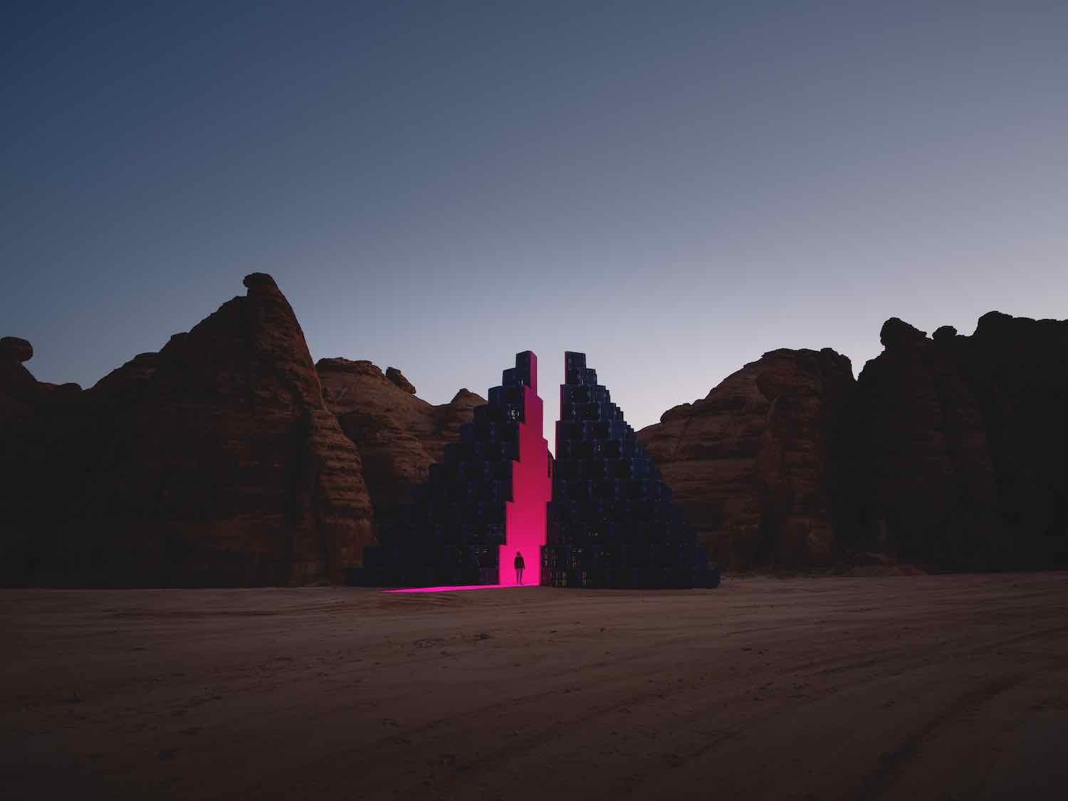 Desert X AlUla 2020. Rashed Al Shashai - Photo by Lance Gerber.