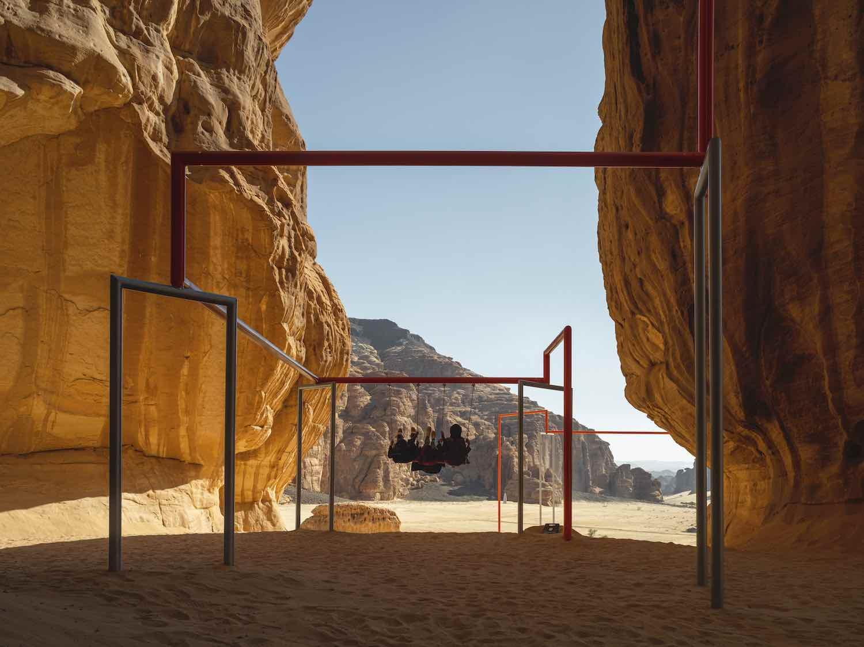 Desert X AlUla 2020. Superflex - Photo by Lance Gerber.