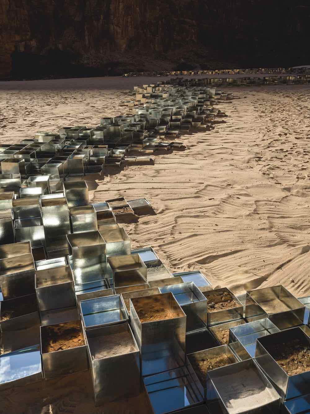 Desert X AlUla 2020. Zahra Alghamdi - Photo by Lance Gerber.