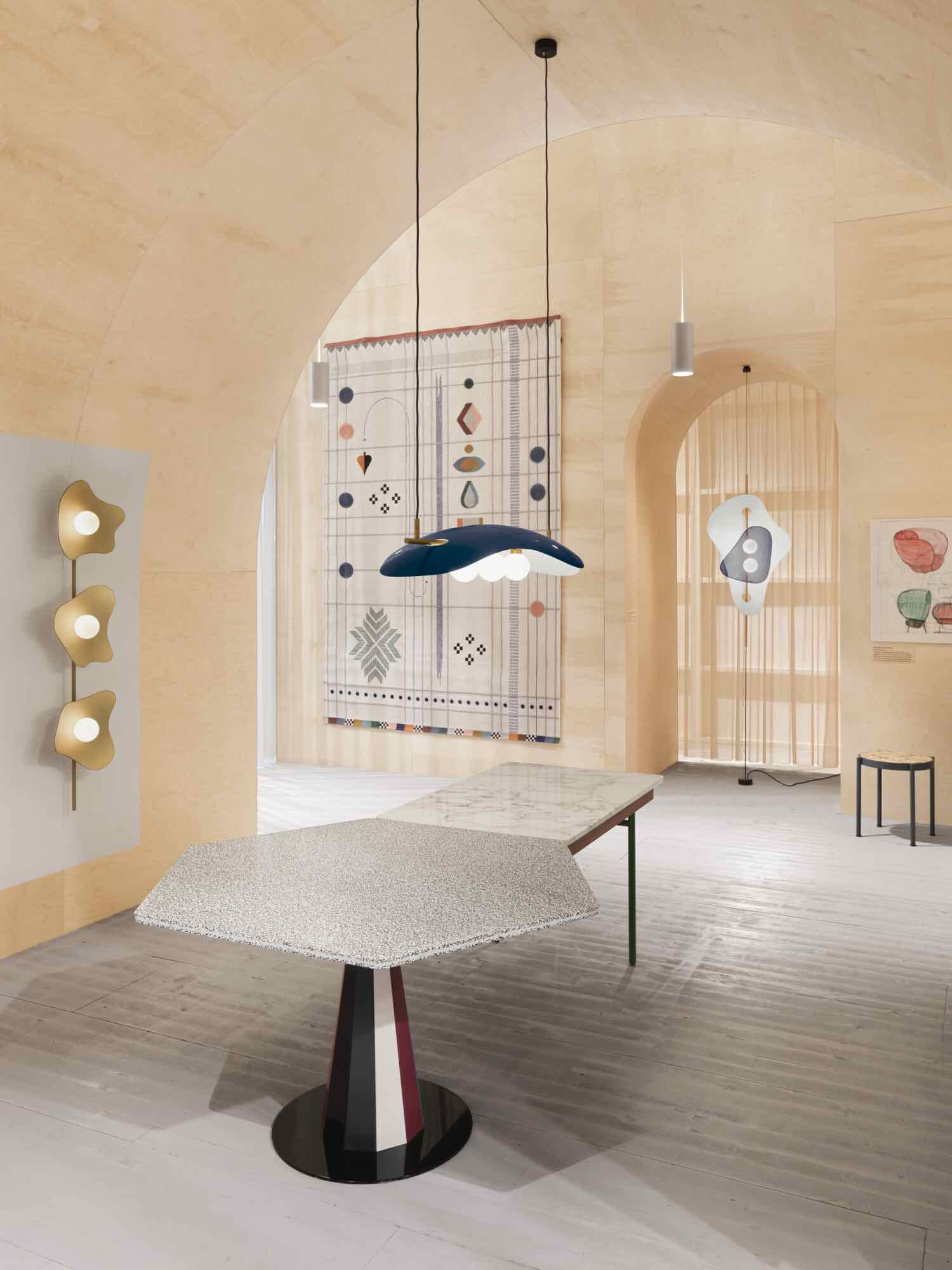 Labyrinthine pavilion by Doshi Levien @ Stockholm Furniture & Light Fair - Photo by Jonas Lindström.