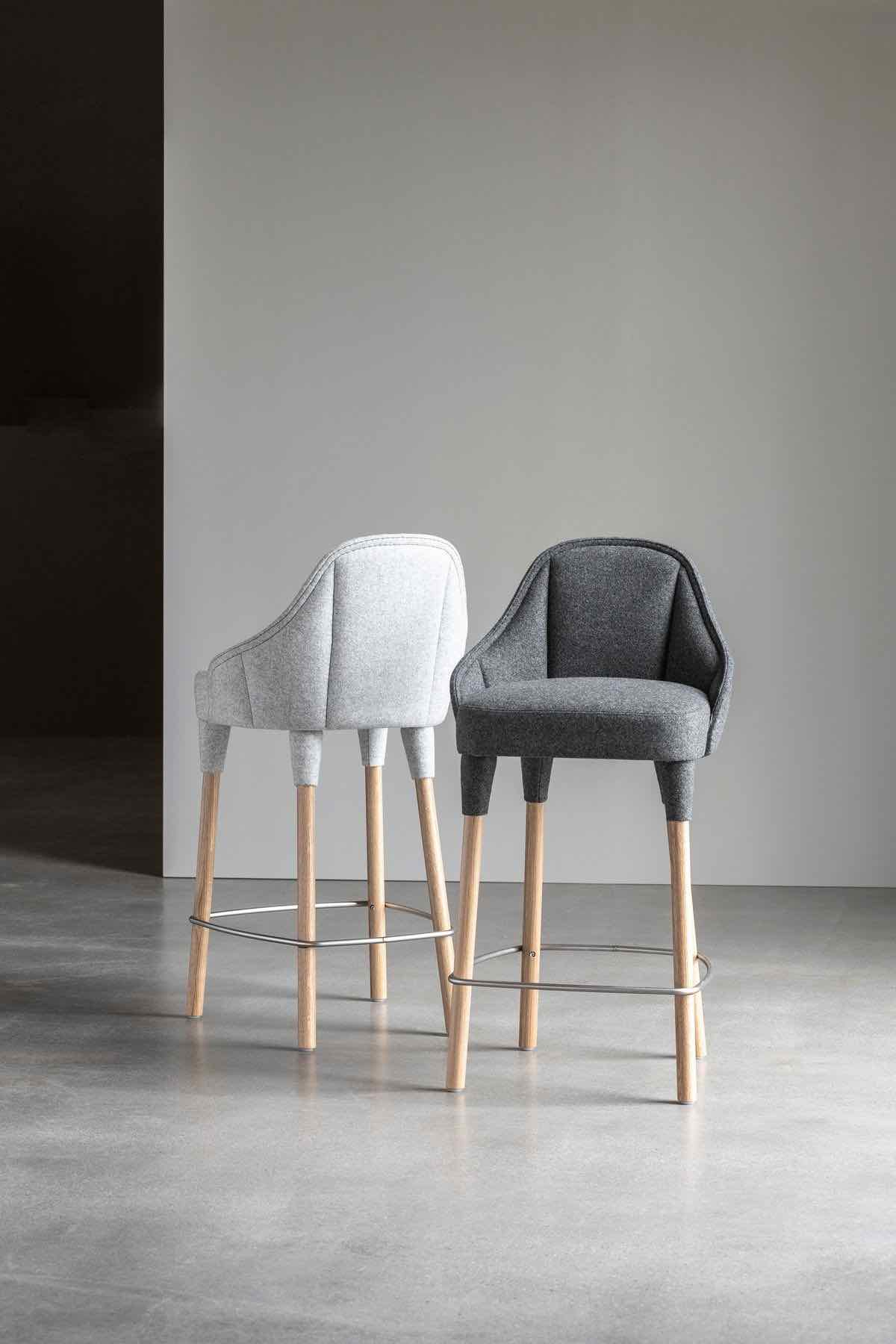 EMILY stool bar by Farg & Blanche for GÄRSNÄS - Photo by GÄRSNÄS.