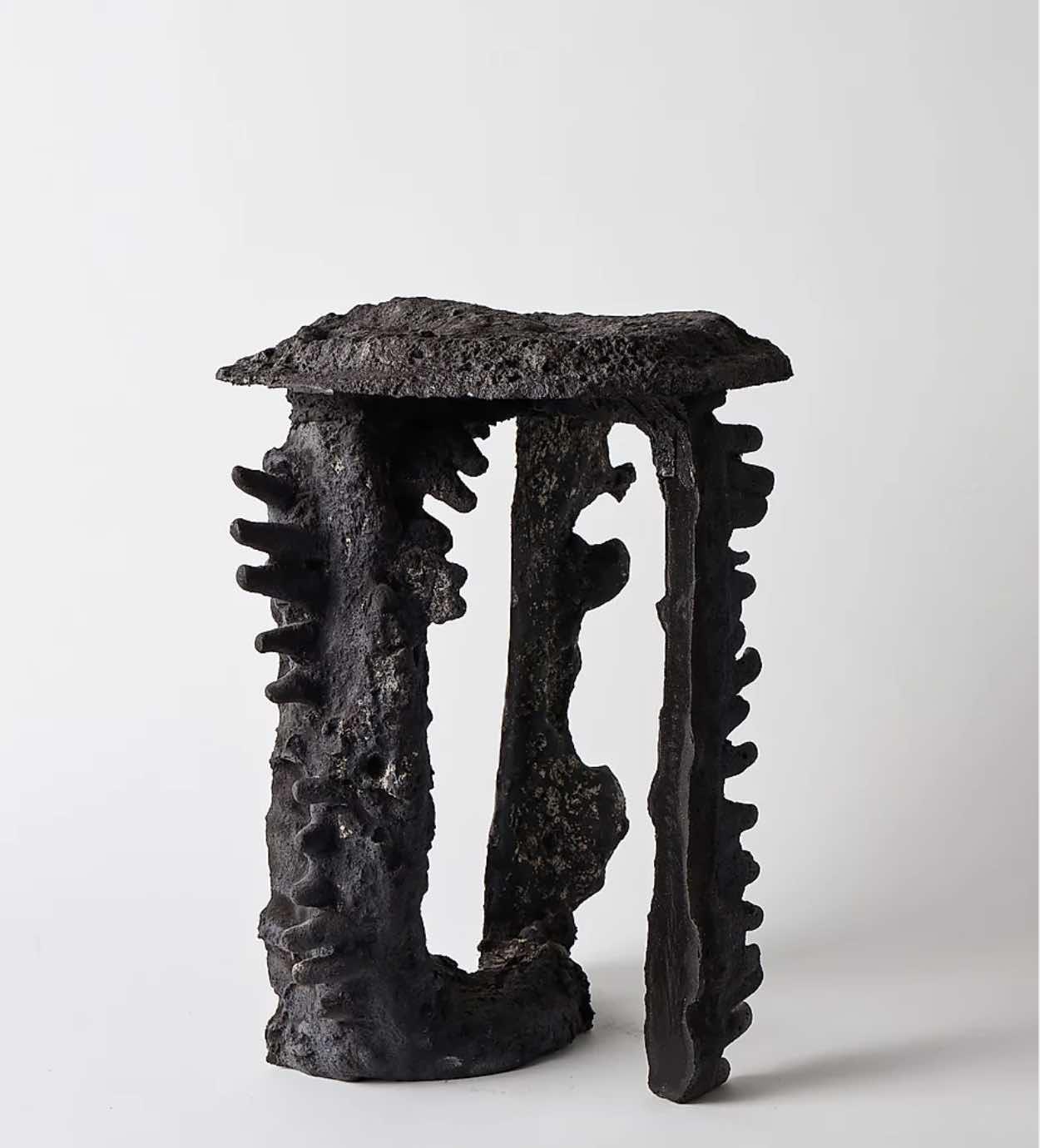 FICTIVE EROSION stool by Kajsa Melchior