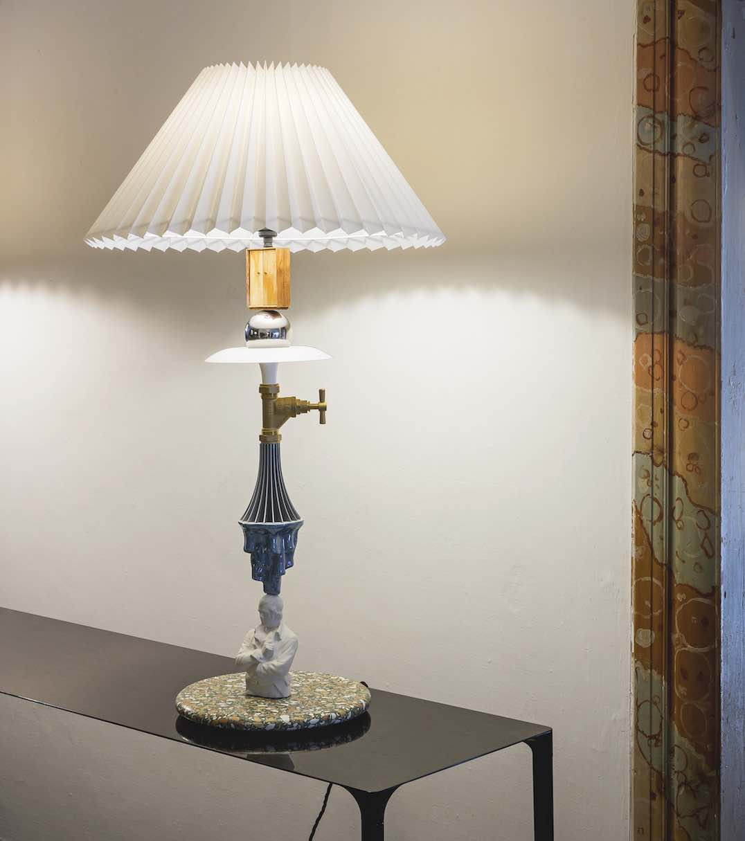 Kebab Lamp by Committee - Established & Sons @ @ NOMAD Saint Moritz 2020 - Photo courtesy of NOMAD
