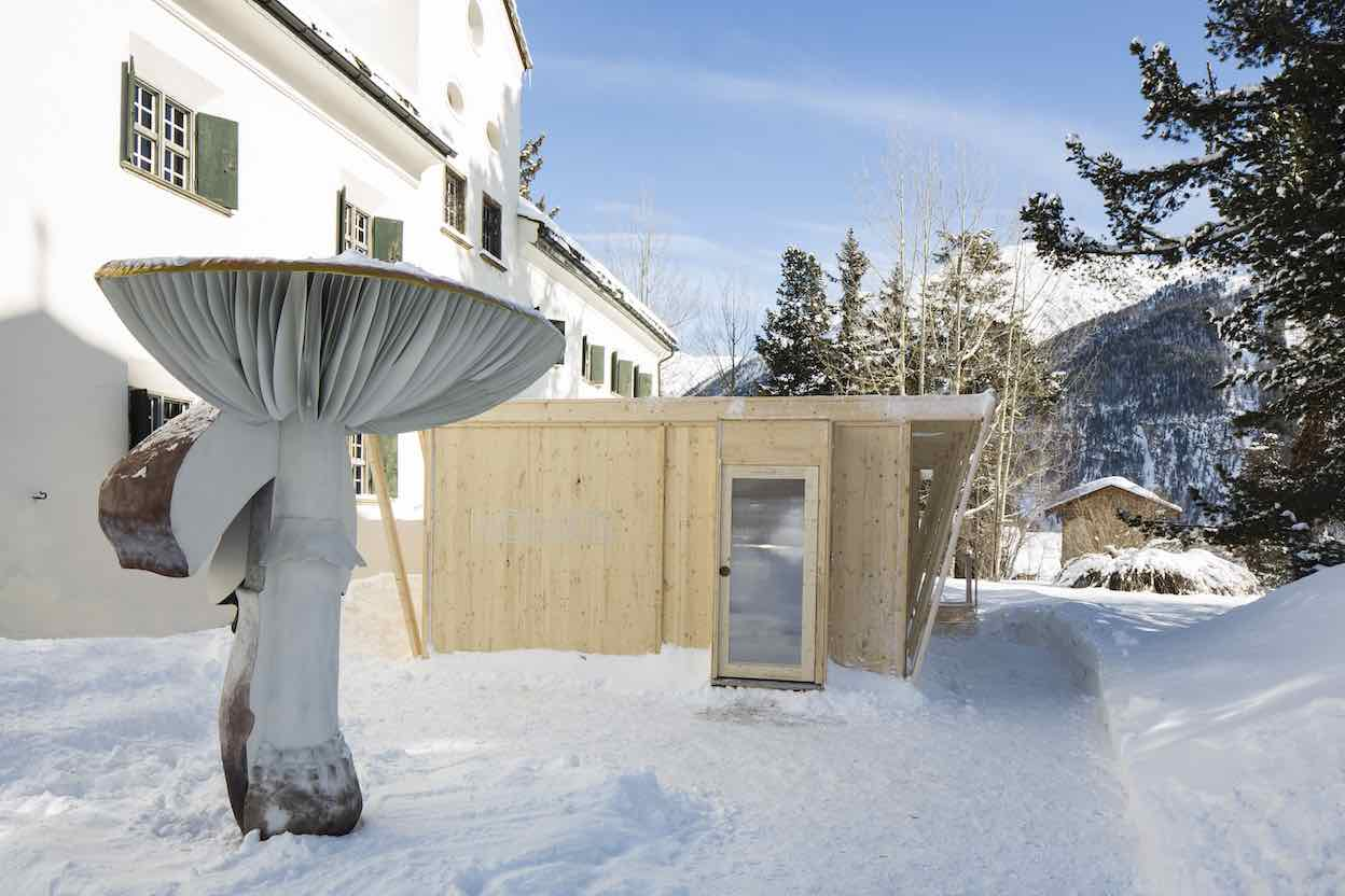 NOMAD SaintMoritz2020. Carsten Höller for Massimo de Carlo. Photo: courtesy of NOMAD.