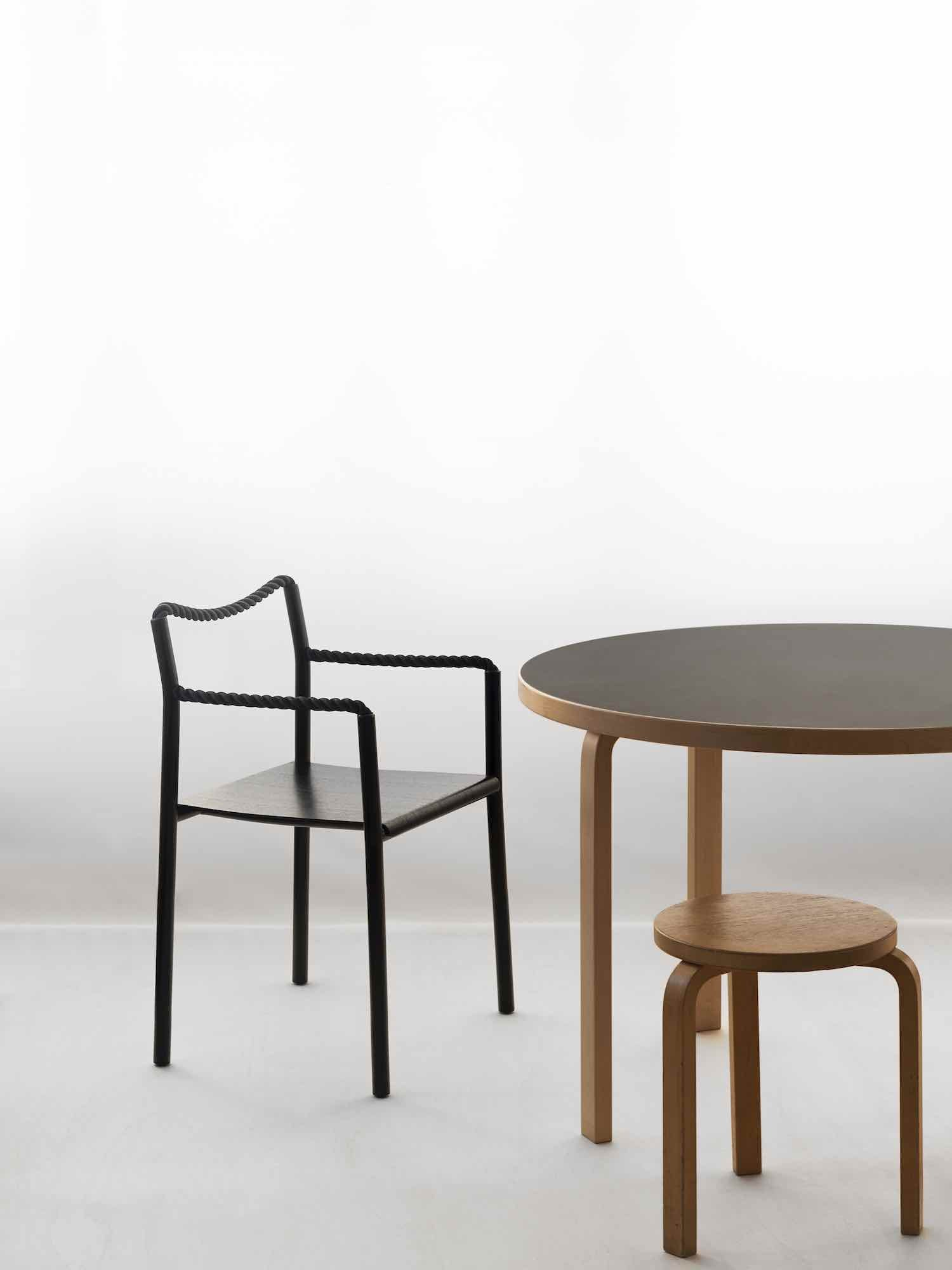 ROPE CHAIR by Ronan & Erwan Bouroullec for Artek - Photo by Mikko Ryhanen.
