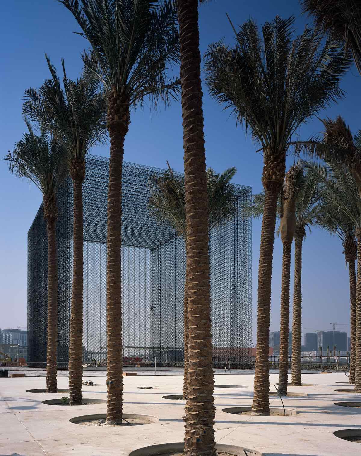 Asif Khan's ethereal portals for Expo 2020 Dubai - Photo by Helene Binet, courtesy of Asif Khan design studio.