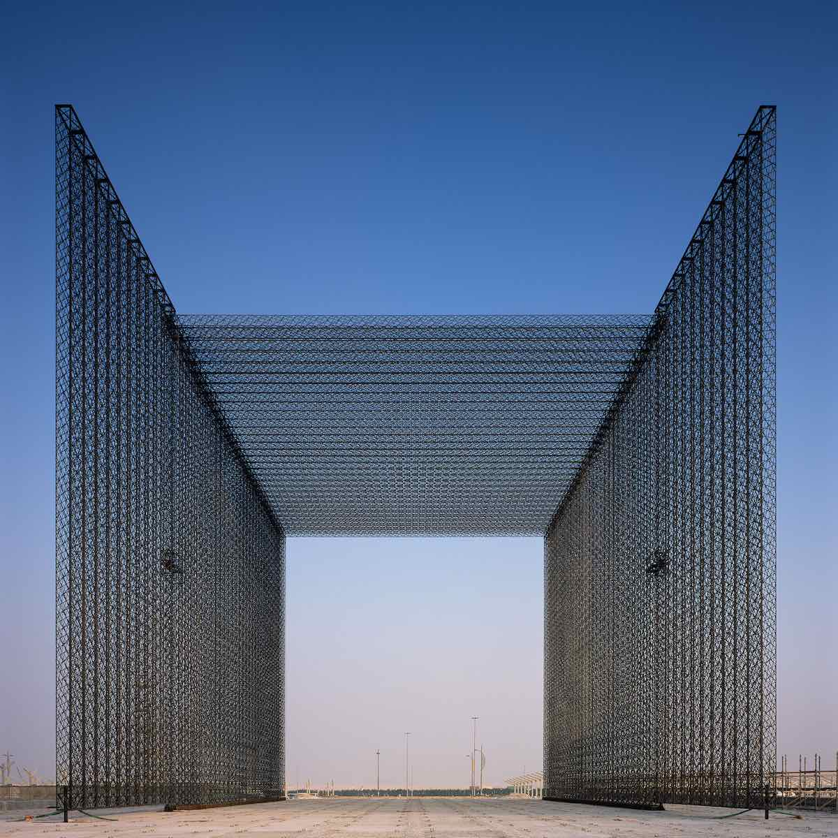 Asif Khan's ethereal portals for Expo 2020 Dubai - Photo by Helene Binet, courtesy of Asif Khan design studio.
