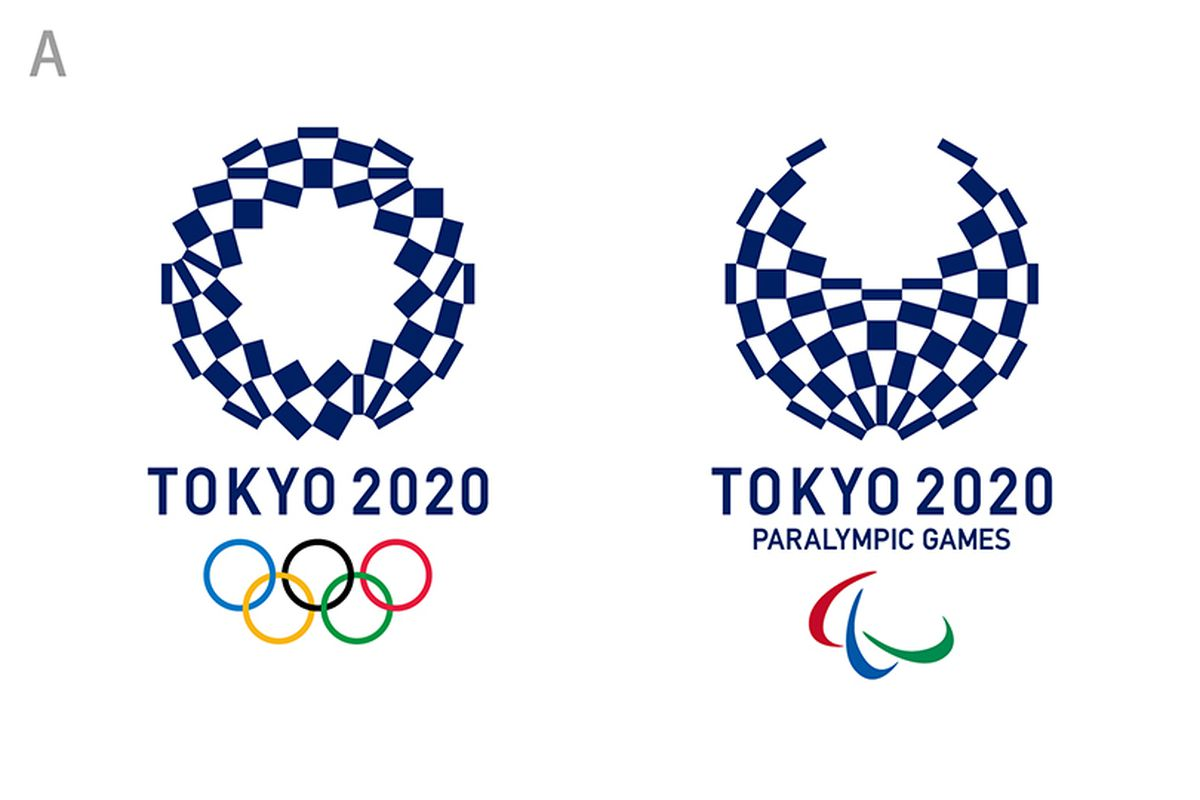 Tokyo 2020 Olympics' logo by Asao Toloko - Courtesy of Tokyo 2020 Olympics