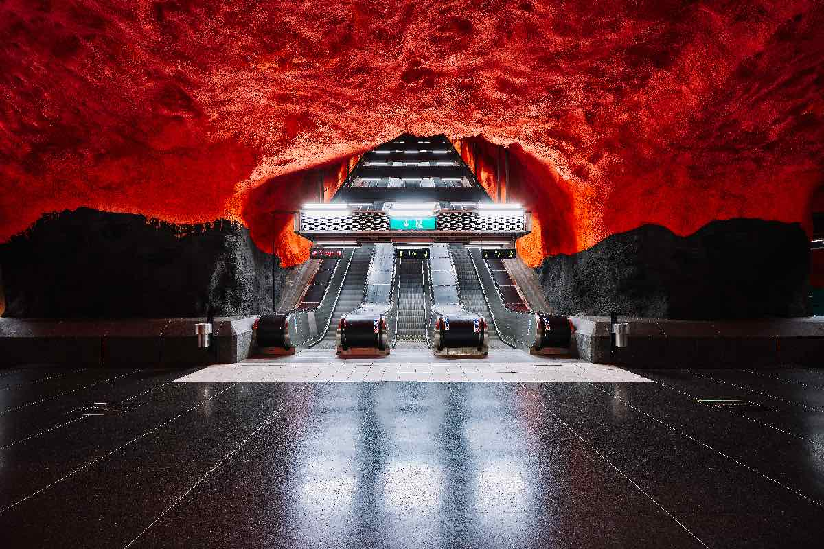 Strockholm Metro - Photo by David Altrah.