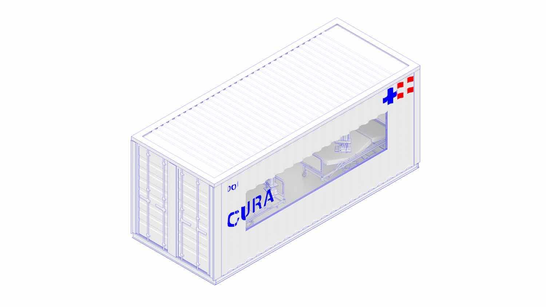 CURA pods by Carlo Ratti Associati - Image by CRA.