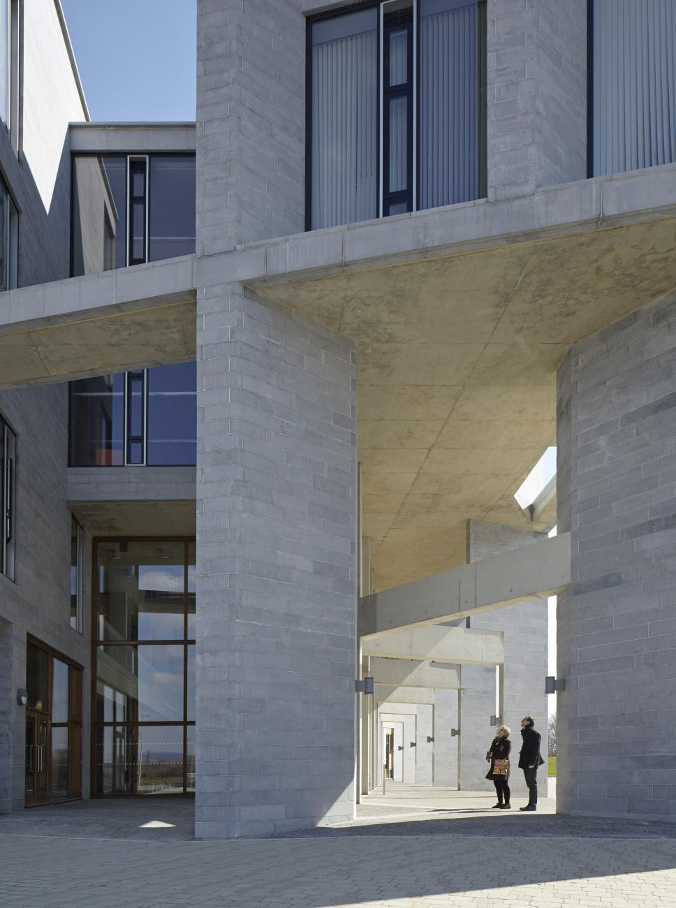 Medical School, University of Limerick by Grafton Architects in Ireland, 2012- Photo: courtesy of Dennis Gilbert.