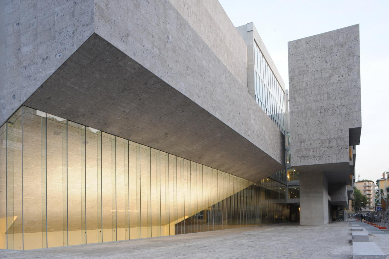 Università Luigi Bocconi by Grafton Architects in Milan (2008) - Photo: courtesy of Federico Brunetti.