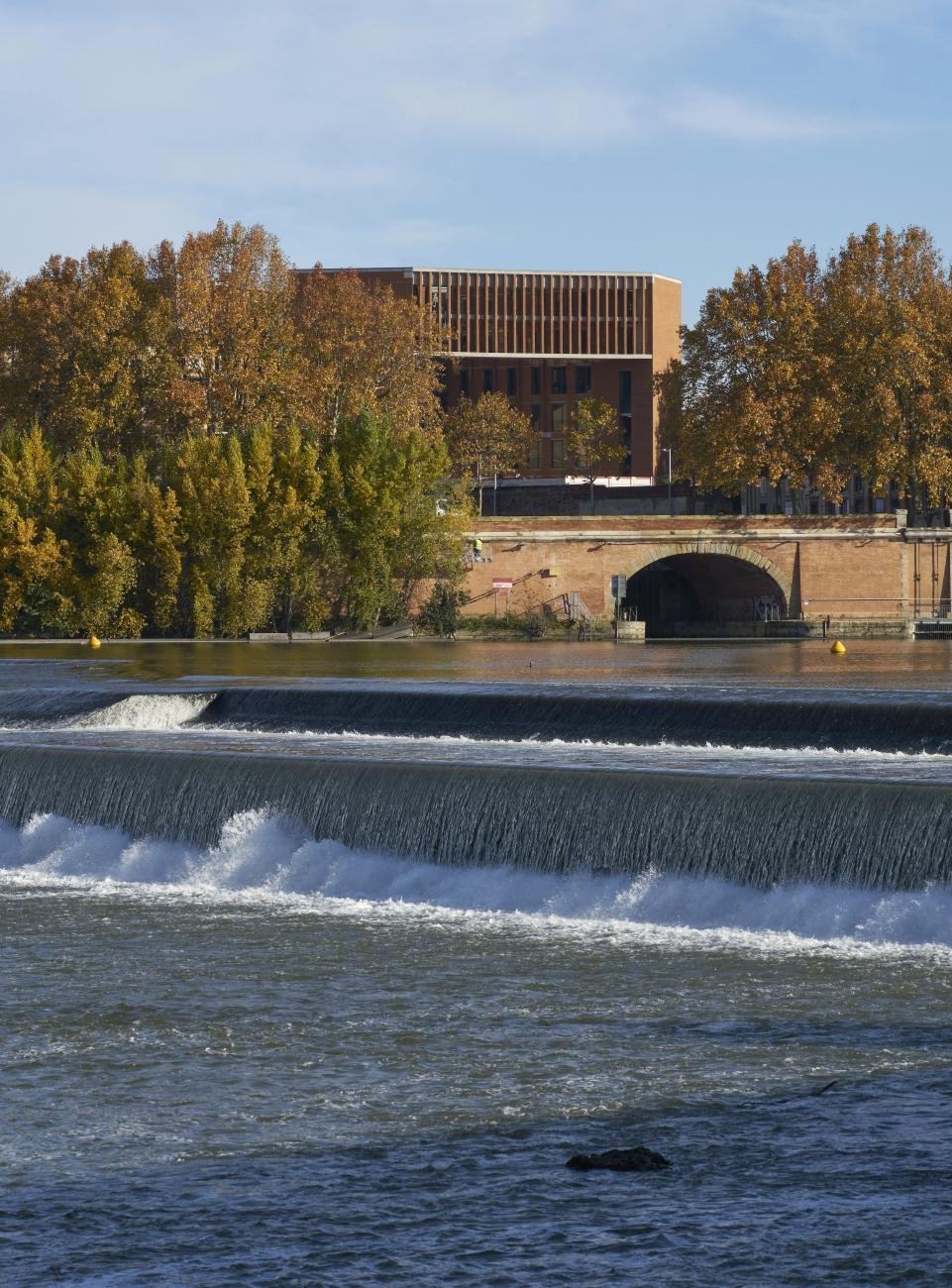 Université Toulouse 1 Capitole, School of Economics by Grafton Architects - Photo courtesy of Dennis Gilbert.