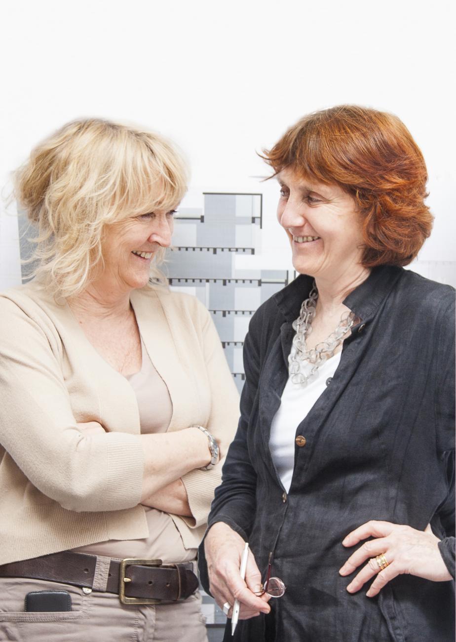 Yvonne Farrell and Shelley McNamara, photo courtesy of Alice Clancy.