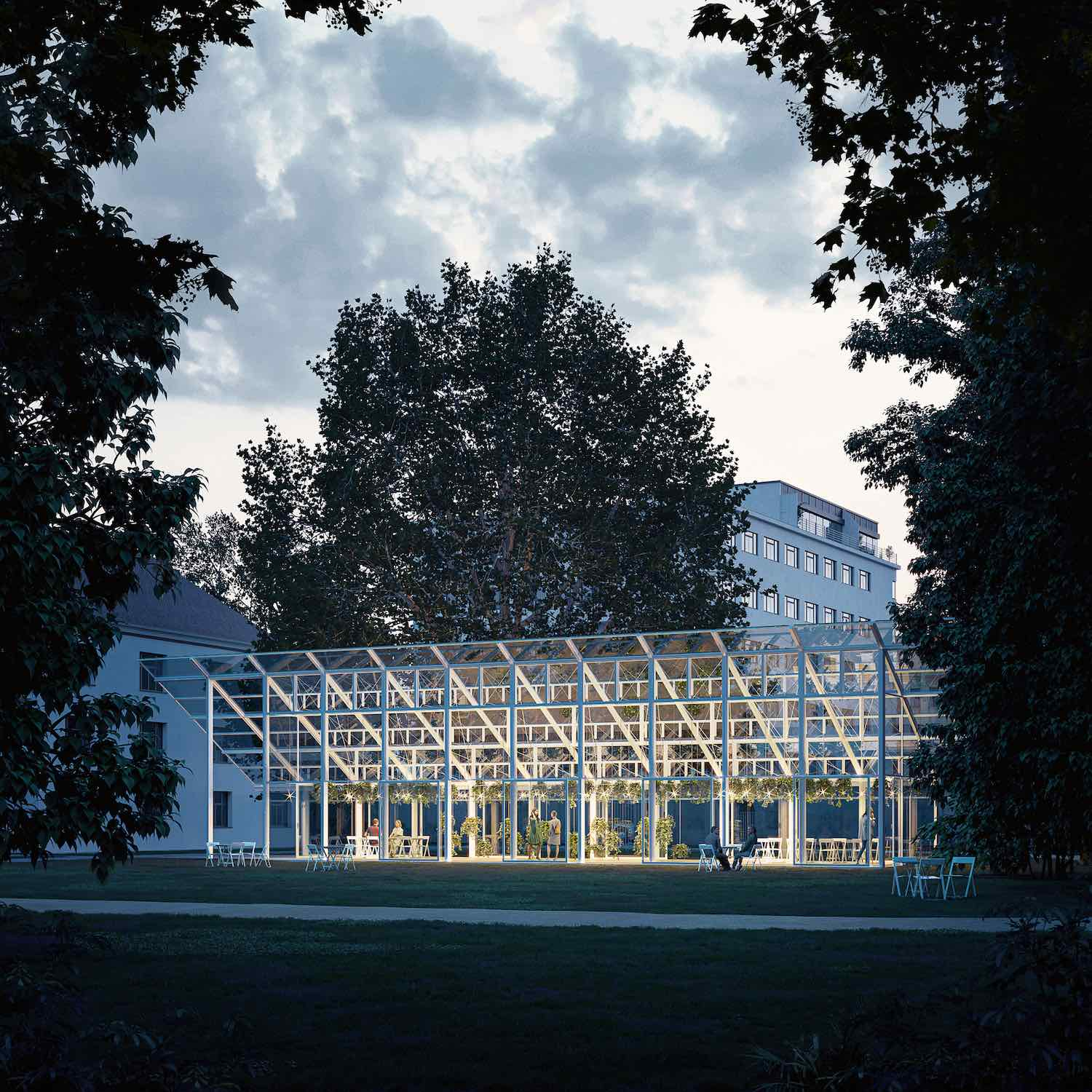 Mendel greenhouse - Chybik Kristof - image by monolot.