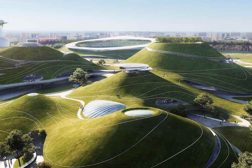 Quzhou Sports Campus by MAD Architects - Courtesy of MAD Architects.