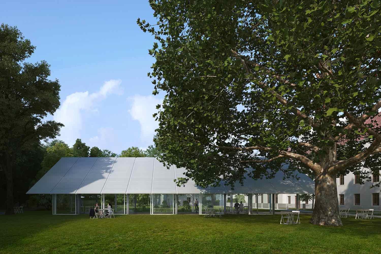 Mendel greenhouse - Chybik Kristof - image by monolot.