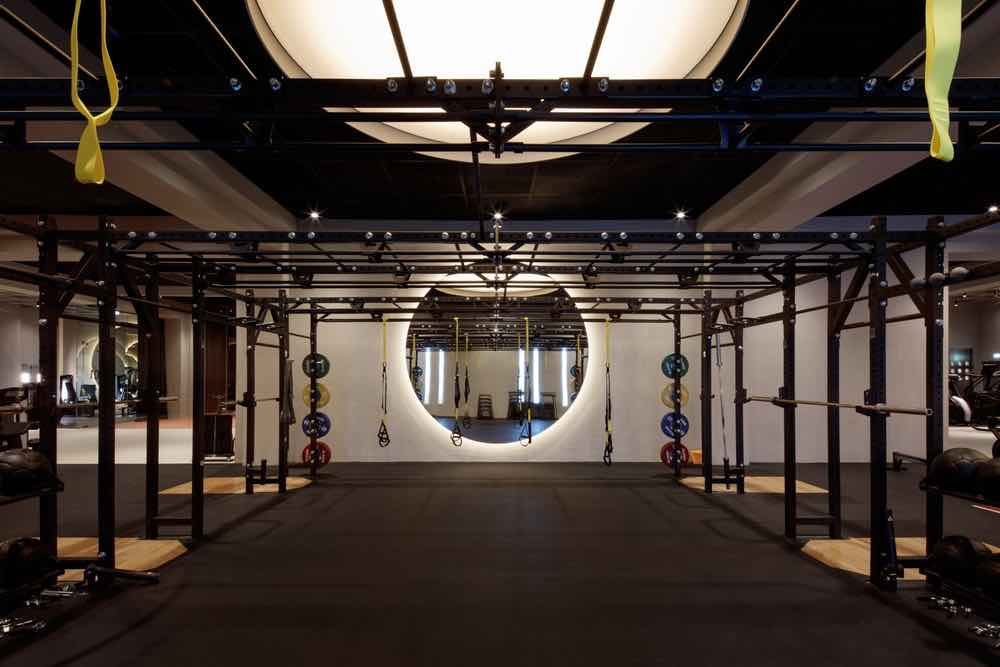 New Warehouse Gym by VHSD Design in Dubai - Photo by Oculis Project.