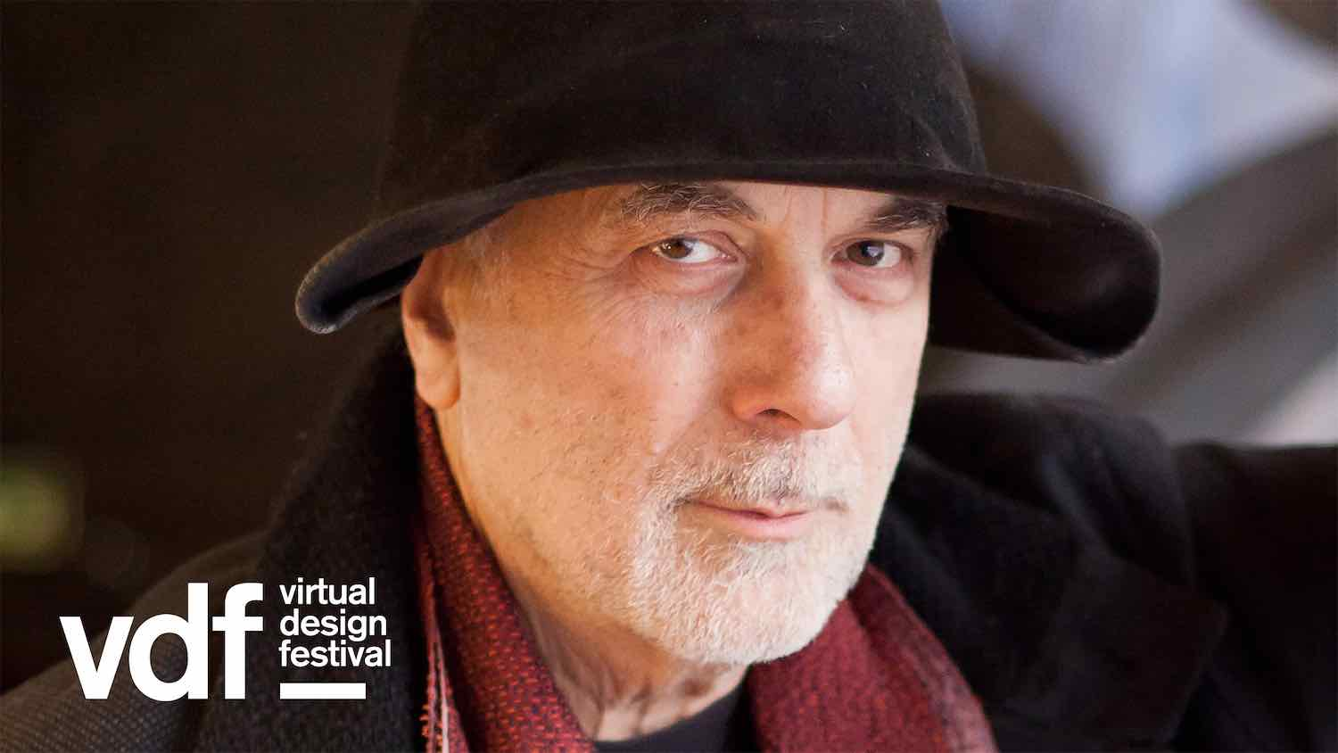 Ron Arad @ the inaugural Virtual Design Festival - Photo by Dezeen