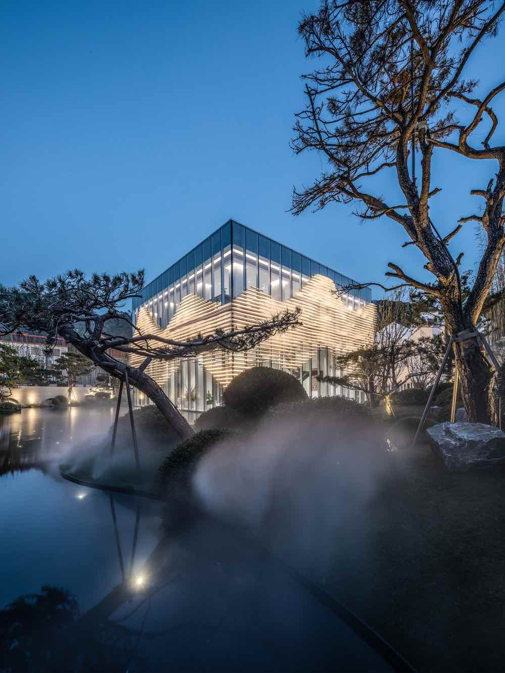 Shanxiao Pavilion by aoe studio - photo by Huang Ligang, courtesy of aoe architecture studio