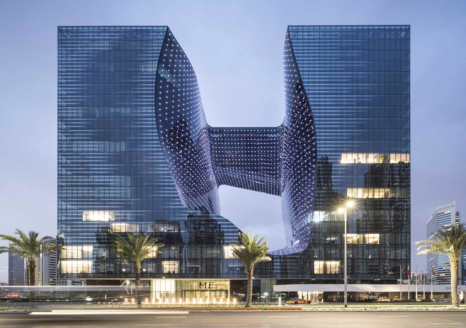 OPUS by Zaha Hadid Architects in Dubai - Photo: ©Laurian Ghinitoiu.