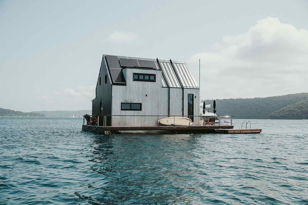 Lilypad floating villa by Chuck Chick Anderson - Photo courtesy of Lilypad.