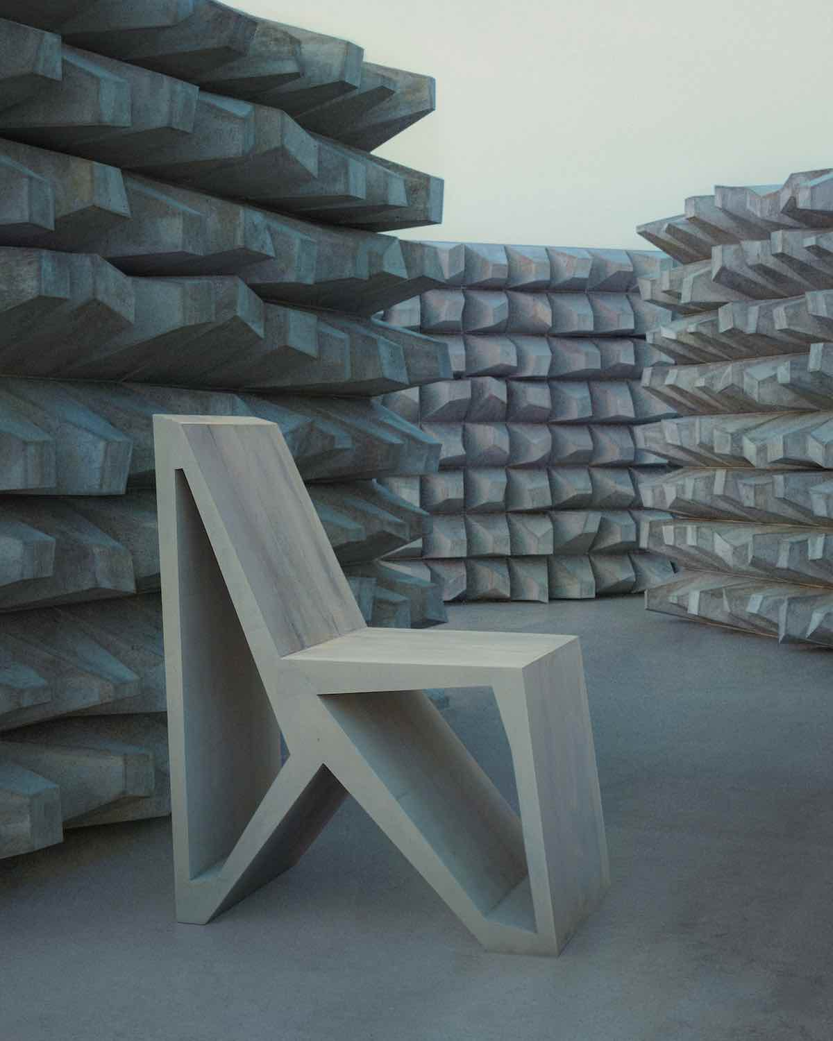 Kink Chair by Thomas Musca and Duyi Han - Courtesy of the designers.