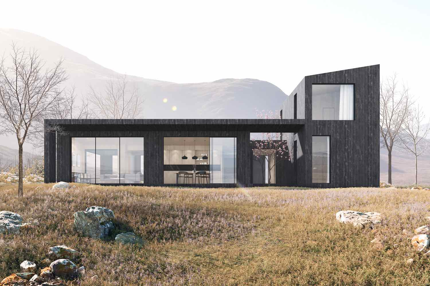 Koto LivingHomes by Plant Prefab and Koto Design. Piha External view - Image by Plant Prefab.