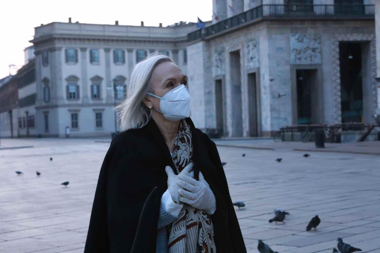 One Step At A Time. Ida Merinelli portrait - Photo by Tania Feghali. courtesy of YESMILANO.