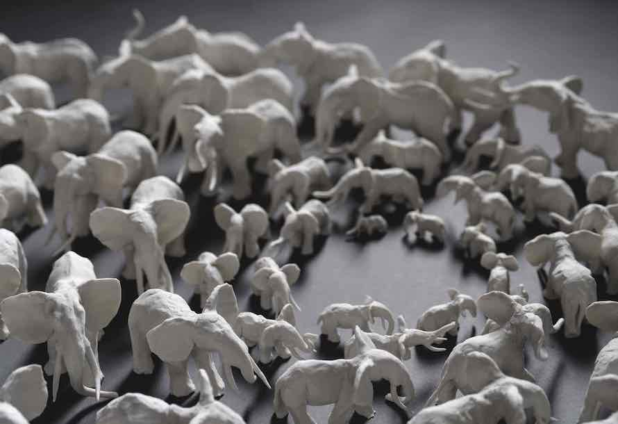 Anti-poaching elephants
