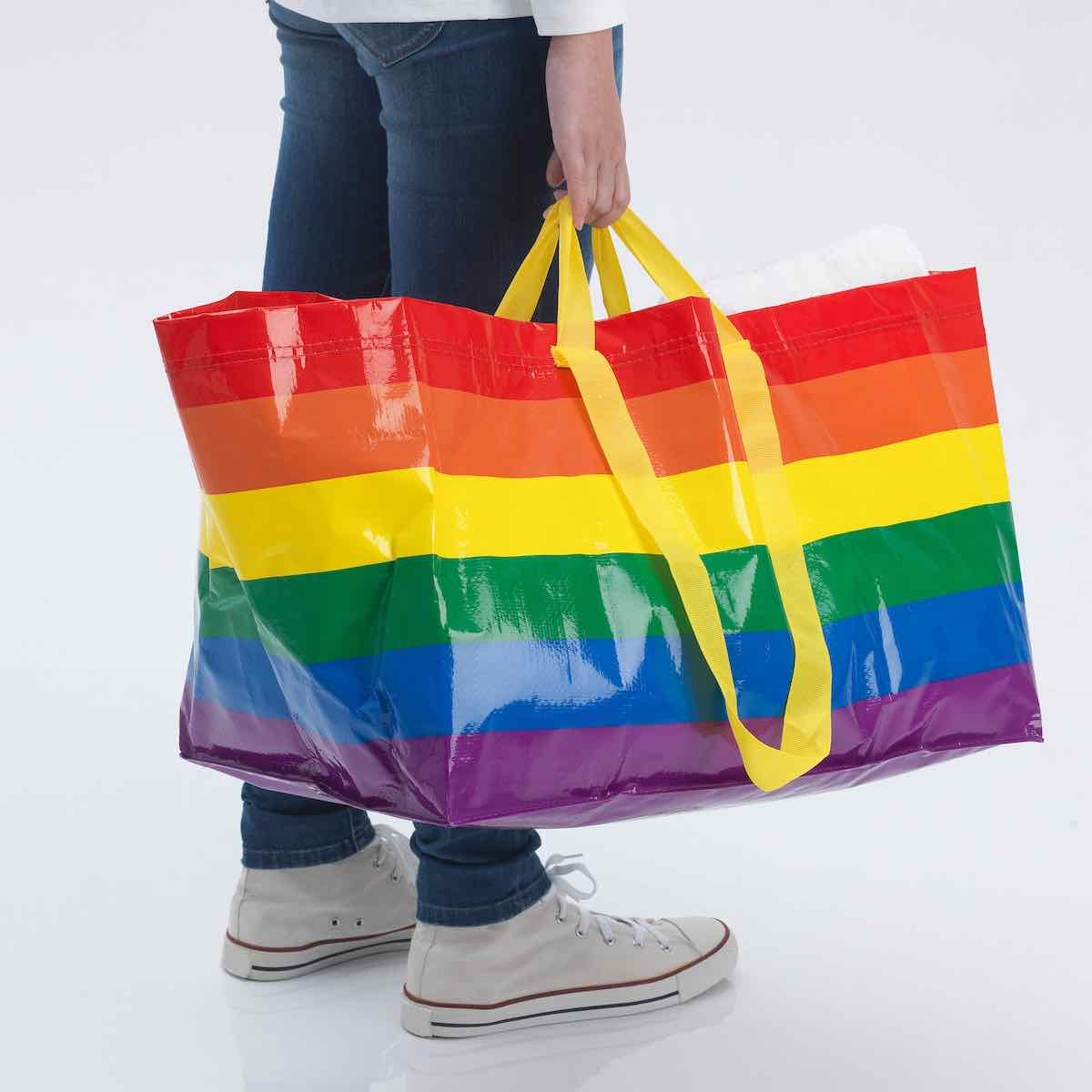 IKEA US rainbow LGBT+ pride bag - Courtesy og IKEA US.