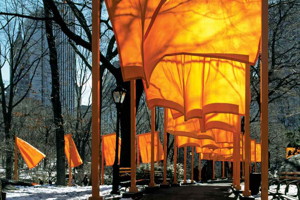The Gates, New York City, 2005 - Photo by Wolfgang Volz ©Christo and Jean-Claude 2