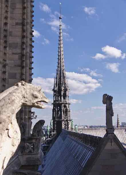 Notre Dame's new 'old spire'