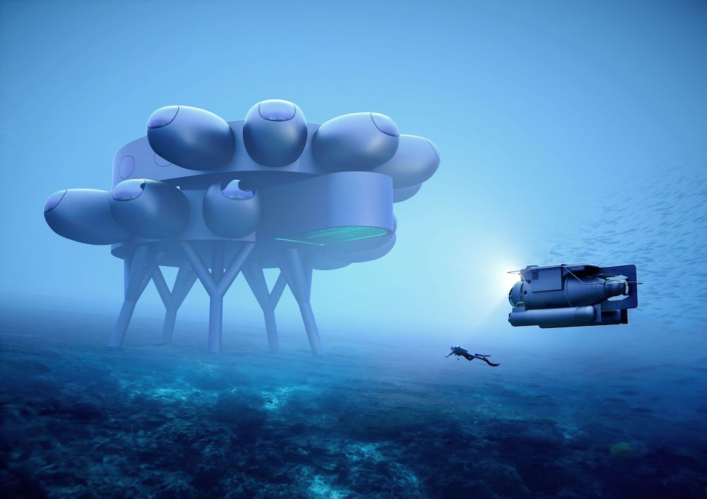 PROTEUS by Yves Behar fuseproject - Courtesy of the Fabien Cousteau Ocealn Learning Center.