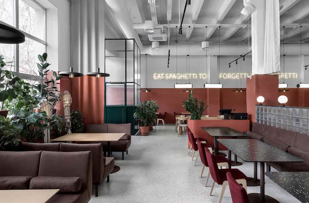 Rose-Mary cafe by Yova Yager hospitality design - Courtesy of Yova Yager hospitality design.